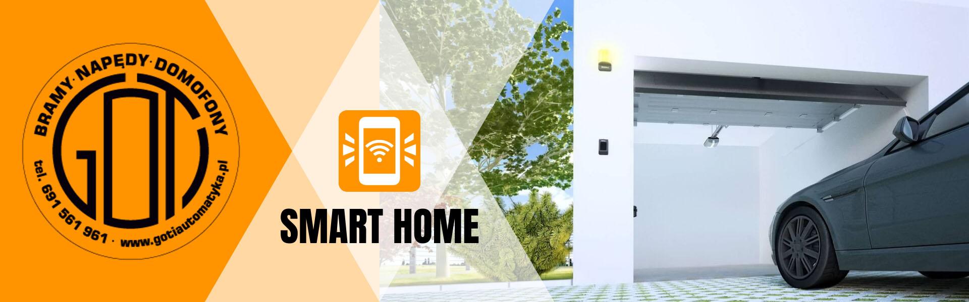 smart home kielce, napęd do bramy przesuwnej świętokrzyskie